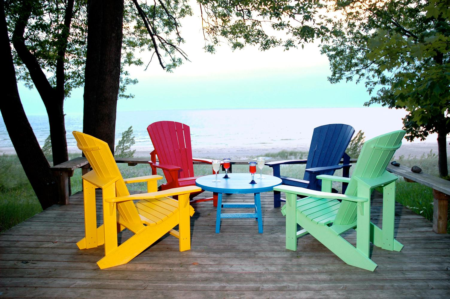 Summer Paint & Stain Project- The Muskoka Chair