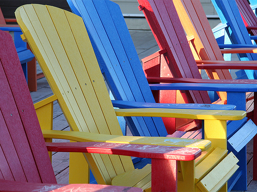 Summer Paint Stain Project The Muskoka Chair Color Company Blog