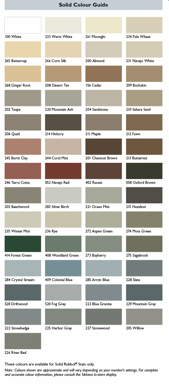 It 39 s staining season now where to start color company blog for Cabot s exterior stain colours