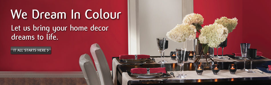 We dream in colour and we can bring your home decor dreams to life.